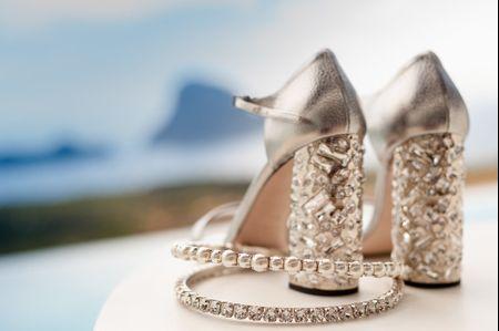 9 tacones para tus zapatos de boda. ¿Cuál será el tuyo?