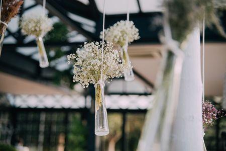 ¿Una boda sin flores? No, gracias