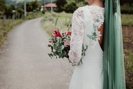 35 vestidos de novia con manga larga que te van a enamorar