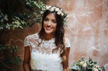 5 peinados-tendencia que llevarán las novias en 2018