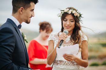 7 textos de boda para leer en vuestra ceremonia civil