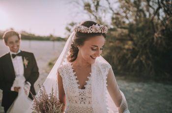 Tips para acertar con las flores de la boda