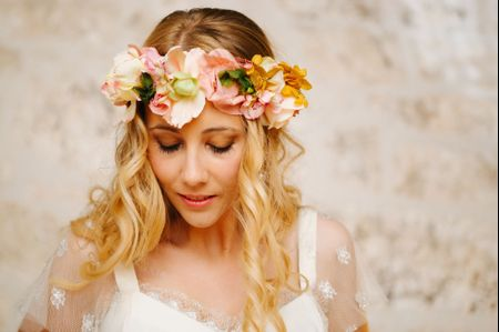 7 peinados muy naturales para novias