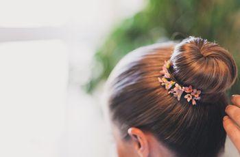 Elegir el peinado de novia acertado según el tipo de cabello
