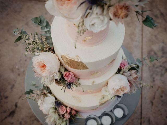 Tartas de boda estilo mármol: ¡os enamorarán!