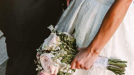 Ramos de novia con un solo tipo de flor
