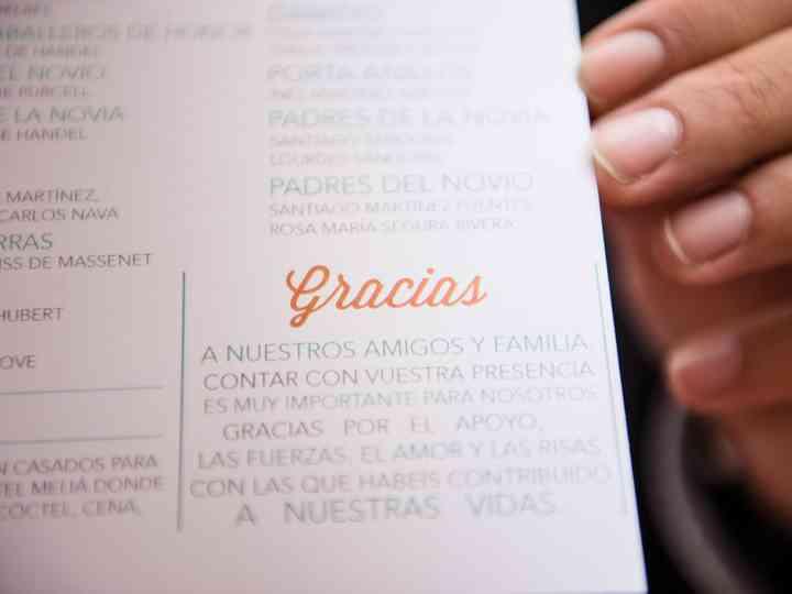 Tarjetas de agradecimiento: ¡dedicad unas bonitas palabras a vuestros invitados!