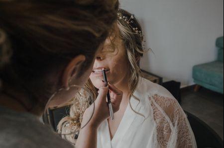 El mejor maquillaje para novias rubias