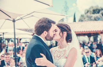 La boda de Pilar y Antonio: sencilla y emotiva a partes iguales