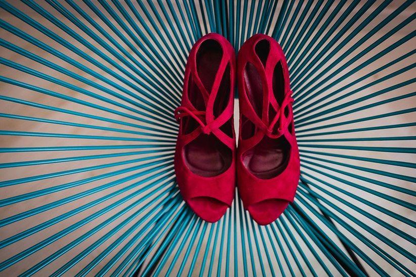 a6857b72d5d Qué zapatos de novia calzar para una boda en primavera