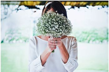 Ramos de novia sencillos: 60 propuestas con encanto