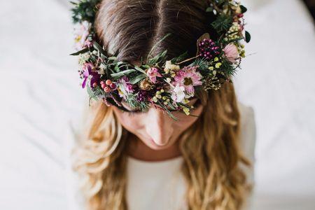 Coronas de flores: guía de estilo