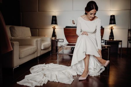 Vestidos de novia 2018 con colas increíbles
