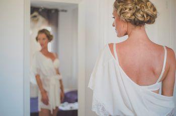 La lencería perfecta para tu vestido de novia