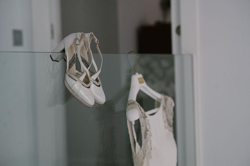 tendencias 2018 en zapatos de novia