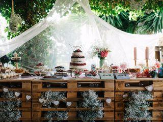 Cómo montar una mesa de dulces en vuestra boda