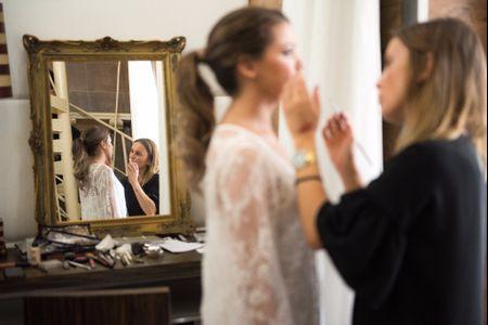 Así será el día de la prueba de maquillaje