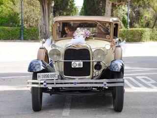 El Coche de bodas 4