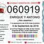 La boda de Antonio Fco Cuadrado Aguilera y Dissol 6