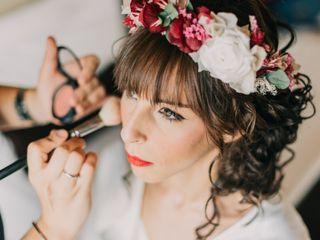 La Química Maquillando y Hair Desiree 1
