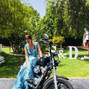 La boda de Cristina Suárez y Cádiz en Harley 8