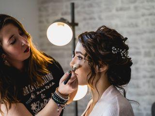 La Química Maquillando y Hair Desiree 2