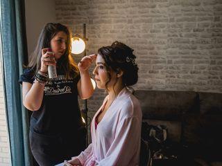 La Química Maquillando y Hair Desiree 6