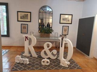 Letras y bodas - Letras decorativas 1