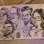 La boda de Gabriel Prieto y MOI Caricaturas 1