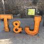 La boda de Teresa y Bcn Letters 11