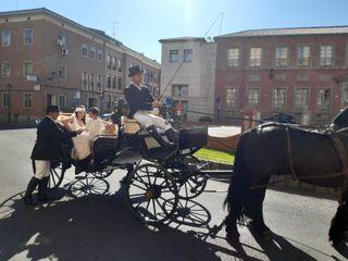 Carruajes y bodas 1