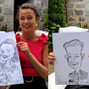La boda de Eneko y DCM Caricaturas 11
