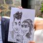 La boda de Eneko y DCM Caricaturas 29