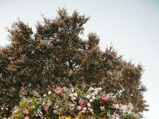 Un Patio con flores 2