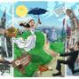 La boda de Naiara Miranda Toledo y DCM Caricaturas 7