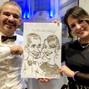 La boda de Laura F. y DCM Caricaturas 12