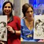 La boda de Laura F. y DCM Caricaturas 14