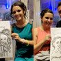 La boda de Laura F. y DCM Caricaturas 16