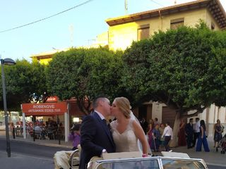 Coche clásico bodas 2