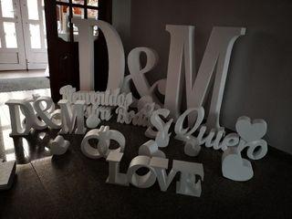 Letras y bodas - Letras decorativas 2