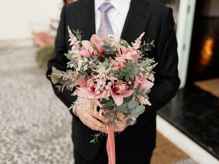 Un Patio con flores 5