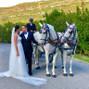 La boda de Raquel Piqueras Herrero y Armengol Torra - Coche de caballos 7