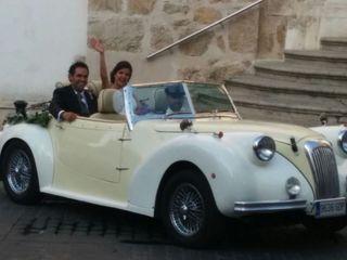 Coche clásico bodas 3