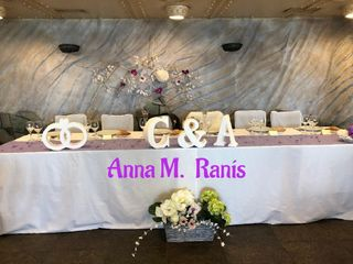 Letras y bodas - Letras decorativas 5