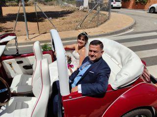 Cabriolet Wedding Car 1