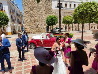 Cabriolet Wedding Car 3