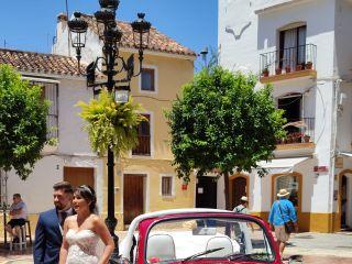 Cabriolet Wedding Car 4