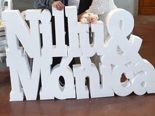 Letras para bodas MR 3