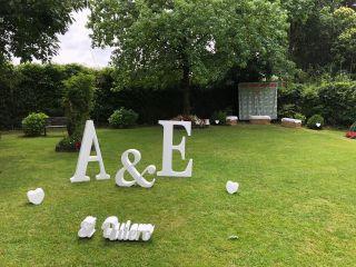 Letras para bodas MR 4