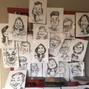 La boda de Eunate y DCM Caricaturas 6